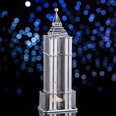 The Empire State Building Centerpiece has the look of the world famous 102 story…