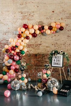 30 Romantic Wedding Balloon Decorations Ideas ❤ wedding balloon decorations loft wall decorated with balloons sophie mathewson photography via instagram ❤ See more: http://www.weddingforward.com/wedding-balloon-decorations/ #wedding #bride #weddingdecor #weddingdecorations #weddingballoondecorations
