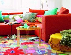 Colorful Living Room Decoration Ideas | Decorazilla Design Blog