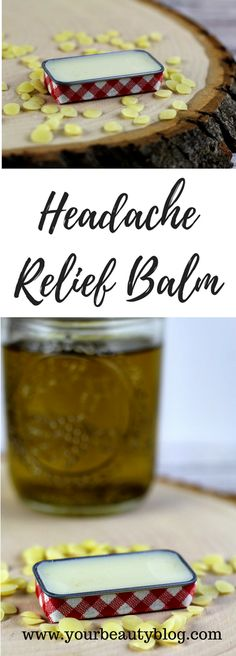 Headache Relief Balm Recipe - Everything Pretty