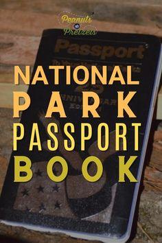 National Park Passport Book - Peanuts or Pretzels