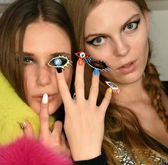 Which nail design from the Libertine NYFW runway inspires you the most?