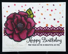 Beautiful Day, Birthday Card, Occasions 2018, Stampin' Up!, Heart's Delight Cards, Stampin' Blends
