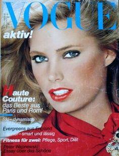 Kelly Emberg - Vogue Deutsch October 1979