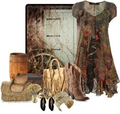 """""""Down Home"""" by deborah-simmons on Polyvore"""