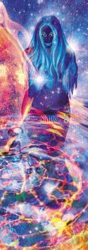 """Mascha Düben, """"Emphatie-Tanz""""artoffer.com Leuchtsäule Lichtobjekt, farbiges Licht, Lichtbilder, Leuchtobjekt. Bauchtanz, orientalischer Tanz, Mythologie, Universum."""