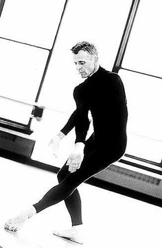 Baryshnikov - who could ever imagine a male ballet dancer dancing in sneakers would be sooooooo sexy!?!?