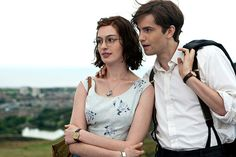Anne Hathaway and Jim Sturgess in One Day, which was filmed in Edinburgh