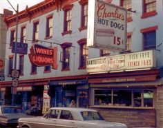 Charlies Famous Hot Dogs, Congress  Street, troy, NY. How I would love to have some Hot Dog Charlie's right now. The best!!!