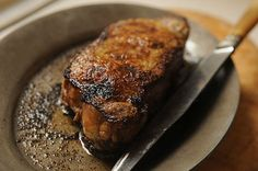 Broiled New York Steak -- so simple. Choose a seasoning salt without any fake additives (Simply Organic is a good brand).