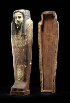 Mummy mask from Egypt, from Dynastic Period