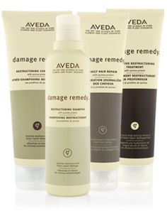 Aveda Damage Remedy Kit - for over processed damaged hair (sold @ Nevaeh salon & spa)