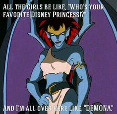 Disney Princess   Gargoyles Demona