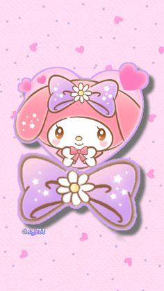 My Melody Wallpaper, Simple Iphone Wallpaper, Sanrio, Cute Wallpapers, Hello Kitty, Drawings, Wallpapers, Pretty Phone Backgrounds