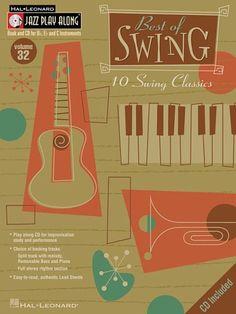 Best Of Swing Jazz Play Along Volume  By Hal Leonard C