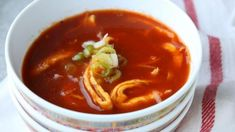 The family recipe: & ask for grandfather& Chinese tomato soup& - The family recipe: & ask for grandfather& Chinese tomato soup& NOW – The - Spareribs, Couscous Recipes, Fish And Meat, Happy Foods, Tomato Soup, Healthy Soup, Soups And Stews, Food Hacks, Family Meals
