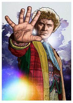 Sixth Doctor, by http://oldredjalopy.deviantart.com/