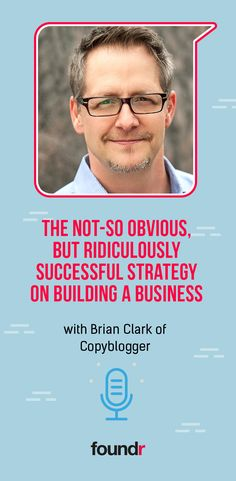 You might not know his name, but you'll know his work. How Brian Clark has influenced an entire generation of entrepreneurs. Creating A Business, Start Up Business, Online Business, Business Entrepreneur, Business Coaching, Foundr Magazine, Email Subject Lines, Term Life, Business Checks