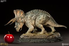 Dinosauria Triceratops Statue by Sideshow Collectibles | Sideshow Collectibles