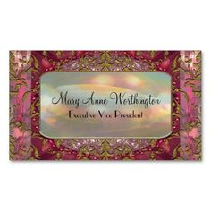 Delancey Petal Elegant  Professional Business Card Templates