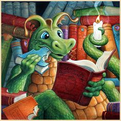Devouring a Good Book by Randal Spangler