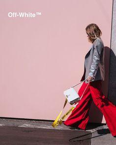 Off-White c/o Virgil Abloh Binder-Clip Shoulder Bag