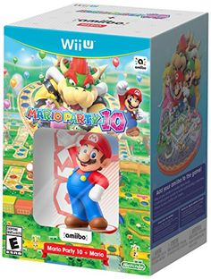 Mario Party 10 + Peach amiibo – Wii U http://gamegearbuzz.com/mario-party-10-peach-amiibo-wii-u/