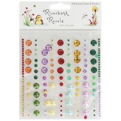 Riverbank Revels Adhesive Gems And Pearls | Card Making Supplies at The Works