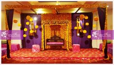 Another Mehendi stage