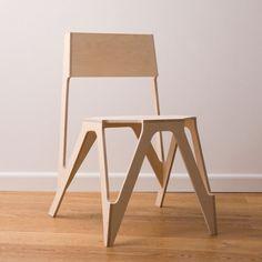 Скелет стула от JDS Architects / Костяной стул от JDS Architects это скорее рассечение стула, никаких лишних материалов, только «костяк», скелет стула.