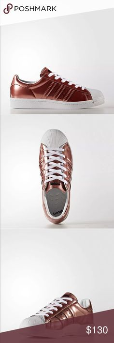 adidas Superstar Boost Shoes Women's Brown Mirror-metallic synthetic leather upper boost is our most responsive cushioning ever: The more energy you give, the more you get adidas Shoes Sneakers