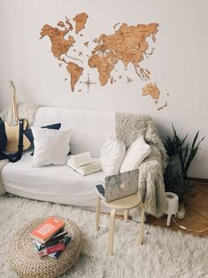 Wall Wooden Map of the World Map Push Pin Map Rustic Home Decor Anniversary Gift for Boyfriend Husband Wall Art Wood Decor Mothers Gift Map Wall Decor, Rustic Wall Decor, Wooden Decor, Farmhouse Decor, Baby Room Decor, Living Room Decor, Bedroom Decor, Bedroom Interiors, Bedroom Loft