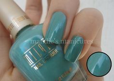 From Mandie's Manicures Milani Nail Lacquer 08A Mint Candy