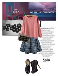 """""""I don't need nothing just some little things"""" by kristinadyomina ❤ liked on Polyvore featuring Rumour London, Charlotte Olympia and vintage"""