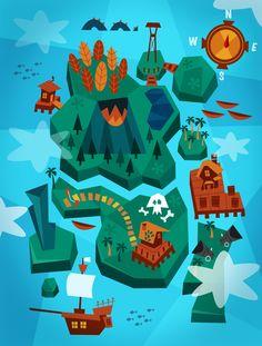 Land Ahoy by Momo & Sprits  http://www.facebook.com/momoandsprits