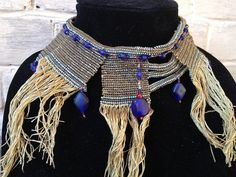 My Egyptian inspired bib necklace - which someone else pinned, here. Pretty cool.