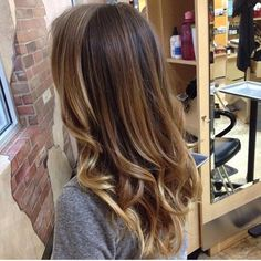 A summer ombre' to die for! -  by Chelsea  www.changesaregood.com