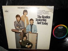 THE BEATLES~YESTERDAY AND TODAY~2ND STATE PASTEOVER BUTCHER~1966 STEREO LP~RARE!