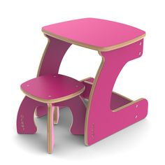 Mini Table for One (up to 3 Years and beyond) - WEAMO / The Bright Kids Range.