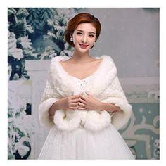 KAKA(TM) Gorgeous Winter Bridal Wedding Dress Wrap Artifi... https://www.amazon.ca/dp/B014LYPIMA/ref=cm_sw_r_pi_dp_x_6HVFyb8F0H9AG
