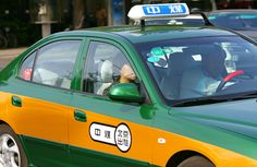 New Beijing Taxi - Chinese Transportation