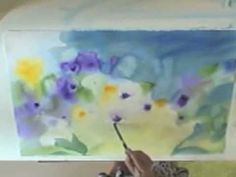 Floral Watercolor Time Lapse Demonstration by Amy Hautman