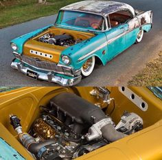 Chevy Bel Air Rat Rod!