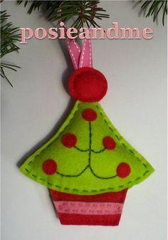 felt christmas ornaments   felt christmas tree ornaments   make handmade, crochet, craft