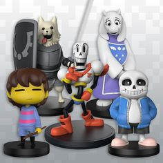 Undertale – Undertale Little Buddies figures are coming soon! Includes The Human, Toriel, Lesser Dog, Sans, and Papyrus! via /r/Undertale | Gamerelated