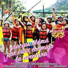 Gracias #mamá por vivir conmigo la #aventura ¡ Feliz #10demayo a todas las #mujeres que son mamás !  ☎️OFICINA 01[229] 1508316 📲 WHATSAPP 2291476029 📬 EMAIL turismoenveracruz@gmail.com  🌎http://www.turismoenveracruz.mx #rafting #hospedaje #vacaciones #turismo #riopescados #jalcomulco