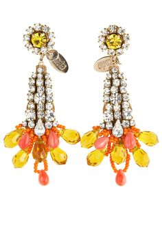 Baubles and Cocktails- Awesome Rada earrings available at Calypso