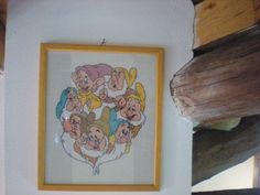 The Seven Dwarfs cross stitch
