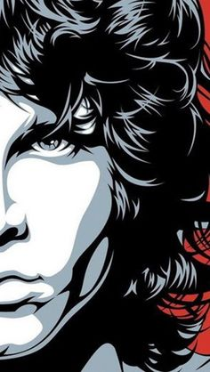 The Doors Jim Morrison poster Rock Posters, Rock And Roll, Arte Pink Floyd, The Doors Jim Morrison, Posca Art, Illustration Vector, Arte Pop, Art Drawings, Drawing Art