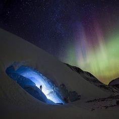 Northern lights above Jasper National Park Alberta #canada  Photo: @paulzizkaphoto #wildernessculture by wilderness_culture